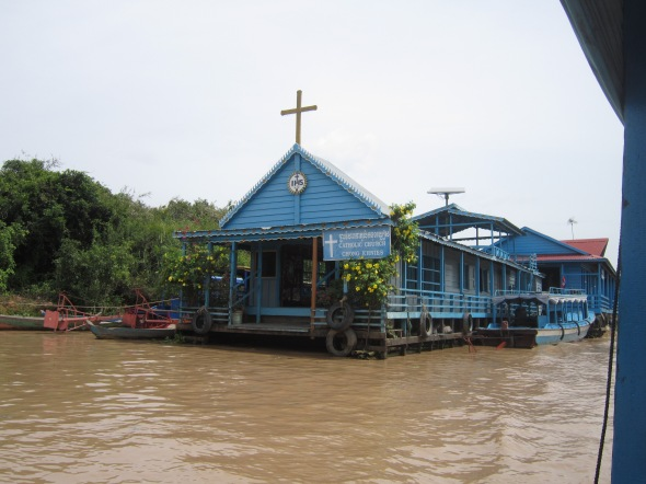 Tonle Sap - Villaggio Galleggiante